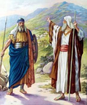 Caleb and Moses- Transfer of Leadership (Deuteronomy 31:14)