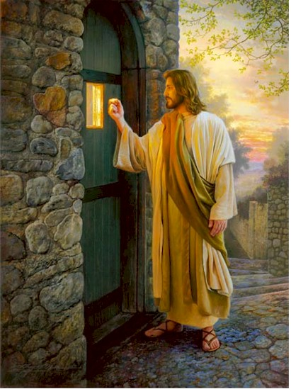 Open the Door to Your Heart, and Let HIM In!