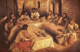 The Lord's Supper at Passover