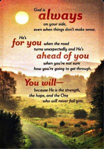 He Will Never Fail Us!
