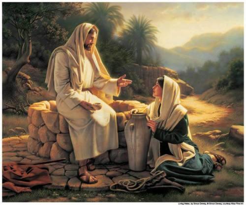 """John 4:26... """"Jesus said to her, I who speak to you am He (The Messiah)."""""""