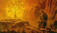 """""""I AM THAT I AM"""" speaks to His servant Moses"""