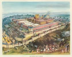 Solomon's Temple of the LORD- on Mt. Moriah