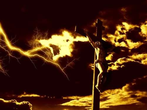 The heavens were darkened...