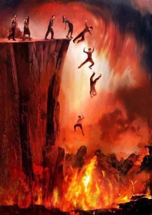 Hell Hath Truly Enlarged Itself!