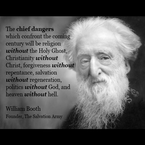 William & Catherine Booth have lead untold millions to the foot of the Cross of our LORD & Saviour Jesus Christ