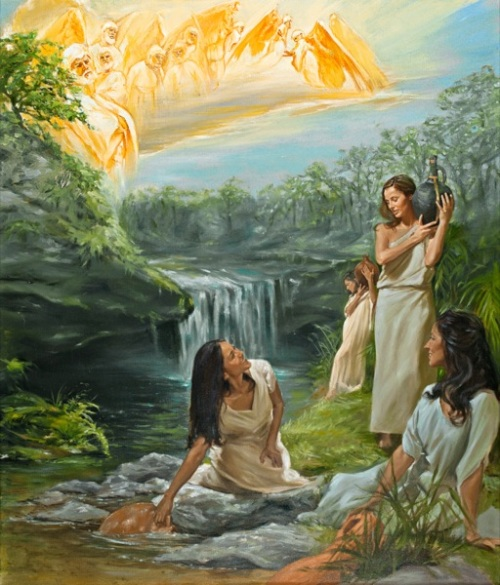 The Watchers of Genesis 6- Saw The Beautiful Daughters of Mankind With Desire