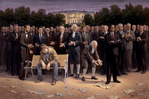 Obama Tramples Constitution