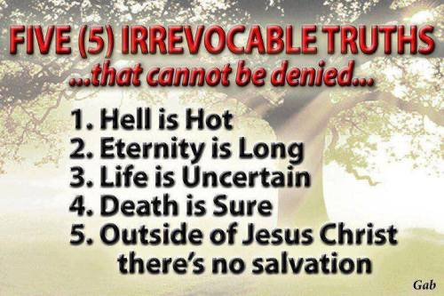 There ARE Absolutes... Study the Word of GOD- The Holy Bible