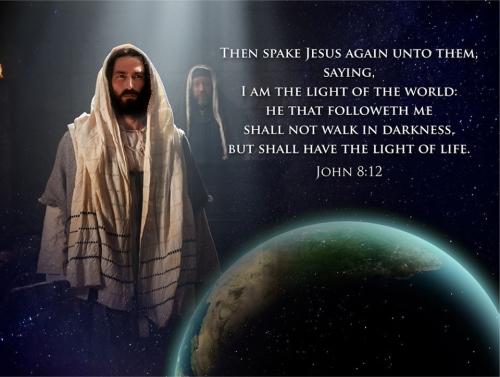 Jesus- Light of the World- John 8-12